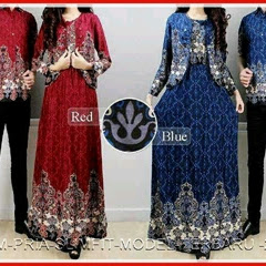 15GBCB Model Baju Batik Ainun Couple BMGshop Bj2815