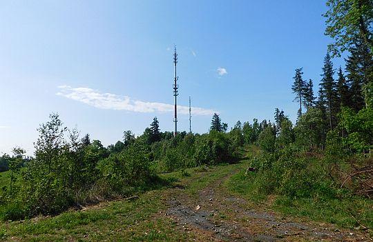 Baraniec z przełęczy między Barańcem i Skopcem.