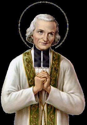 En la imagen San San Juan Maria Vianney, Santo Cura de Ars.