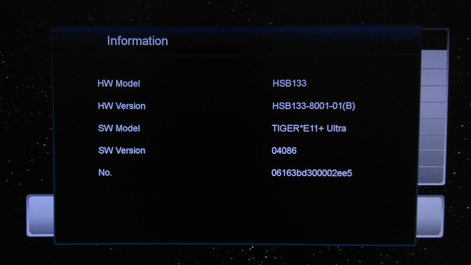Software Tiger Star E11 Plus Ultra New Update Firmware