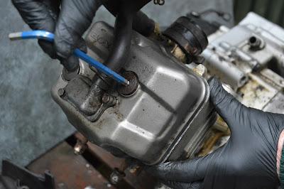 Honda CBR 125 R Engine timing marks