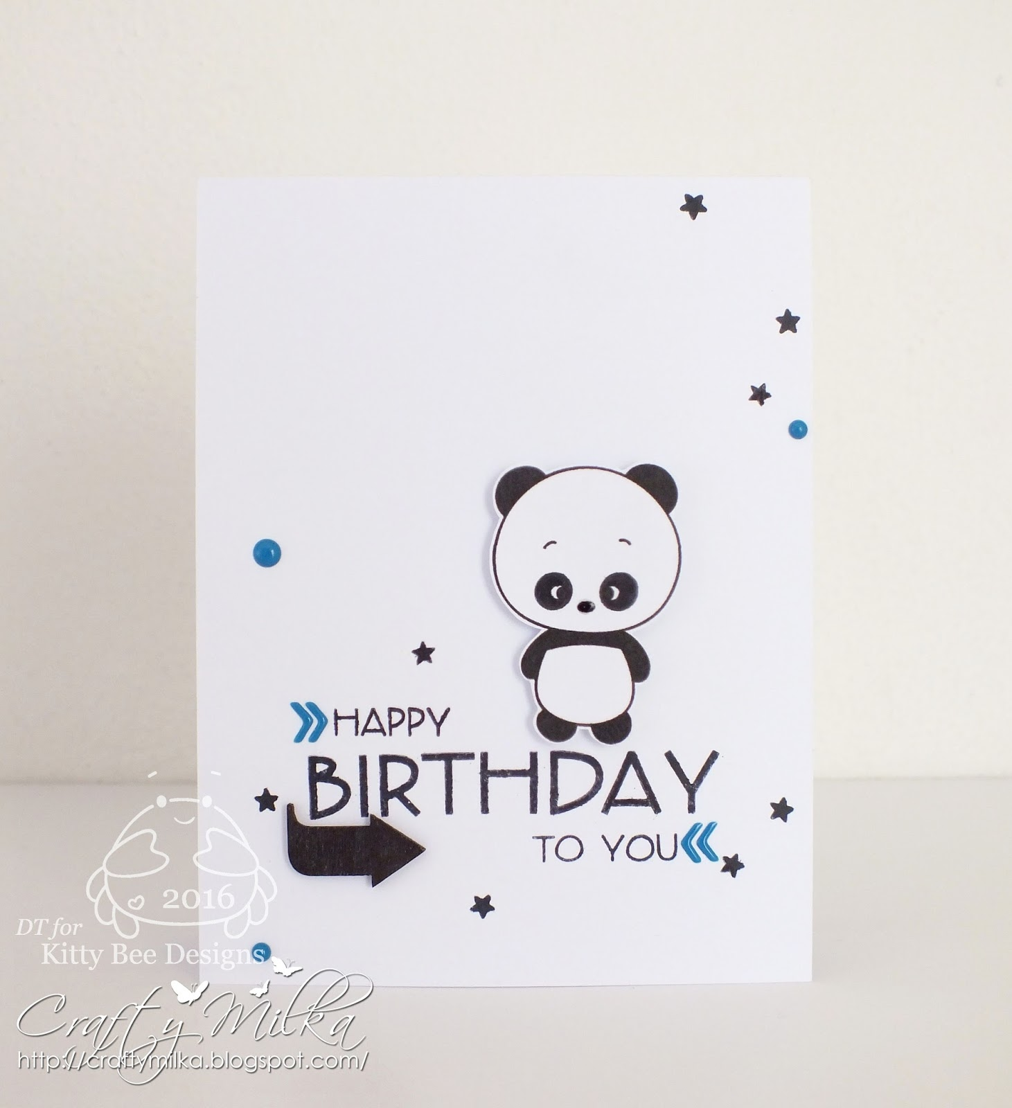 Crafty milka happy birthday panda card kitty bee designs spotlight i used super cute panda love from 2013 january panda releases love all of them o bookmarktalkfo Image collections