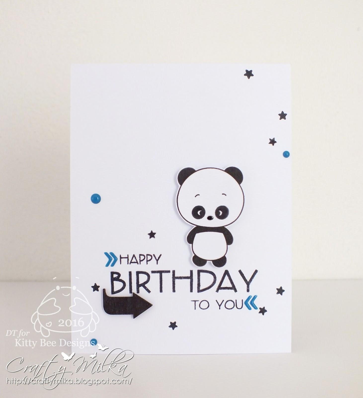 Crafty milka happy birthday panda card kitty bee designs spotlight happy birthday panda card i used super cute panda love from 2013 january panda releases love all of them o bookmarktalkfo Choice Image