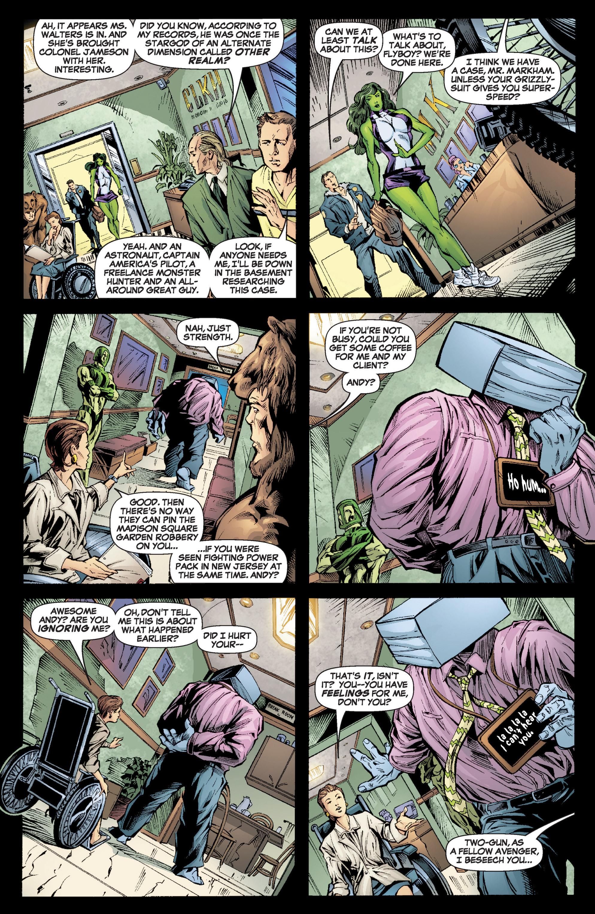 Read online She-Hulk (2005) comic -  Issue #6 - 16