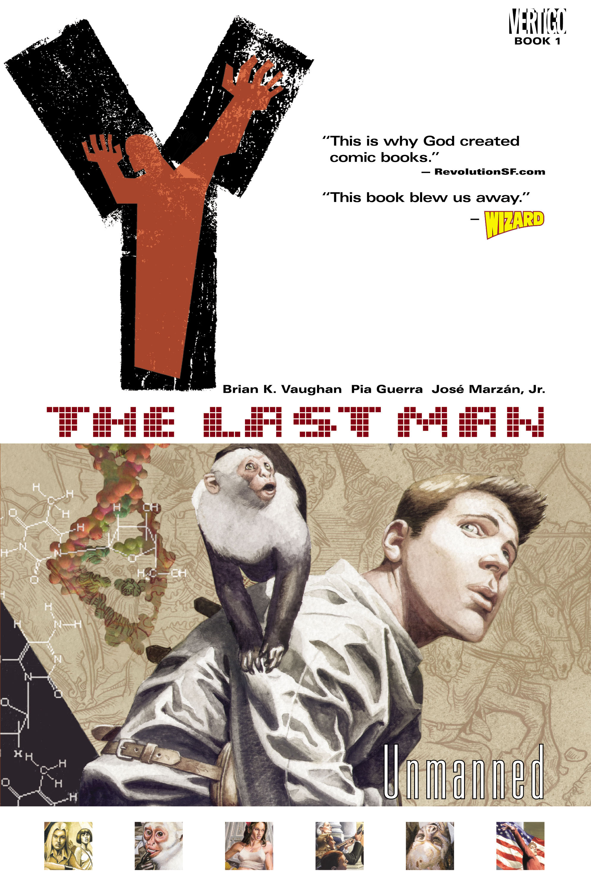 Y: The Last Man (2002) _TPB_1 Page 1
