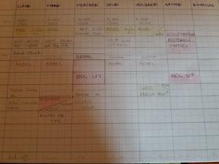 IEF homeschooling planete parentage  emploi du temps CP