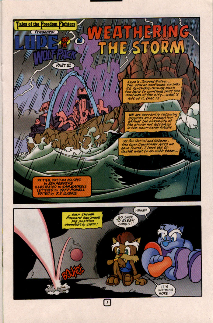 Read online Sonic The Hedgehog comic -  Issue #69 - 17