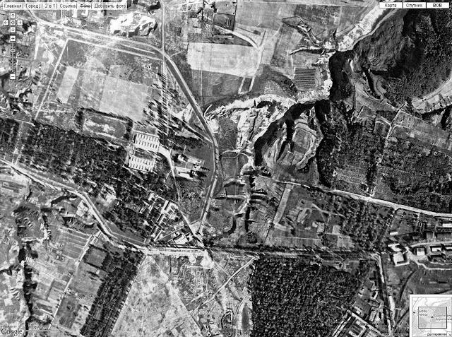Немецкая аэрофотосъемка г. Киева. - 1943. - 26 сентября