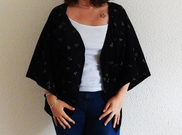 Couture : mon kimono fait main