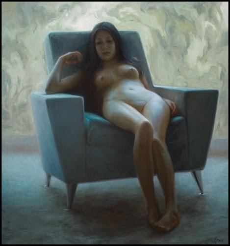 Figura Sentada - Ignat Ignatov e suas mais belas pinturas  ~ Pintora russa