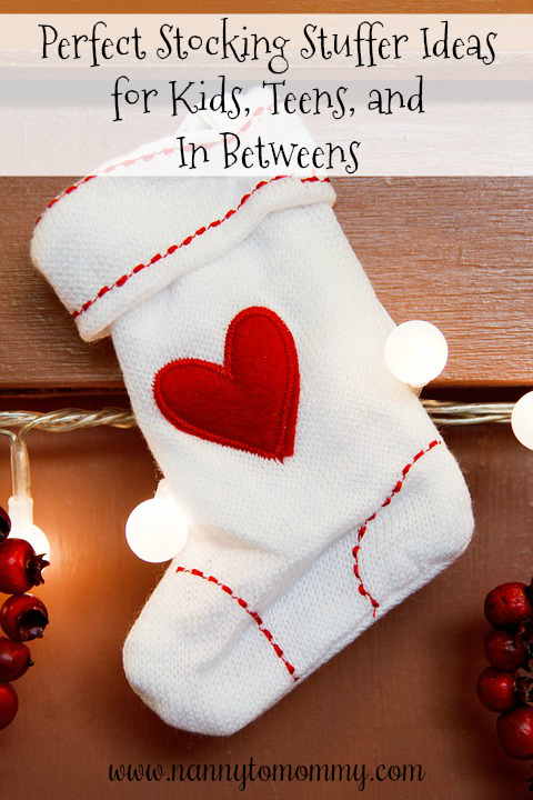 Stocking Stuffer Ideas for Kids, Teens, and In Betweens