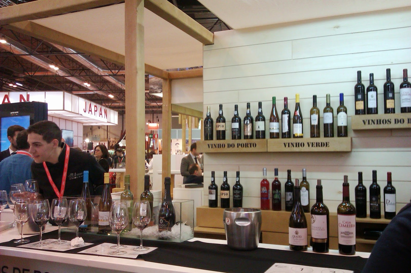Degustación de vinos portugueses