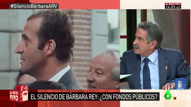 Miguel Ángel Revilla, estalla contra la monarquía.