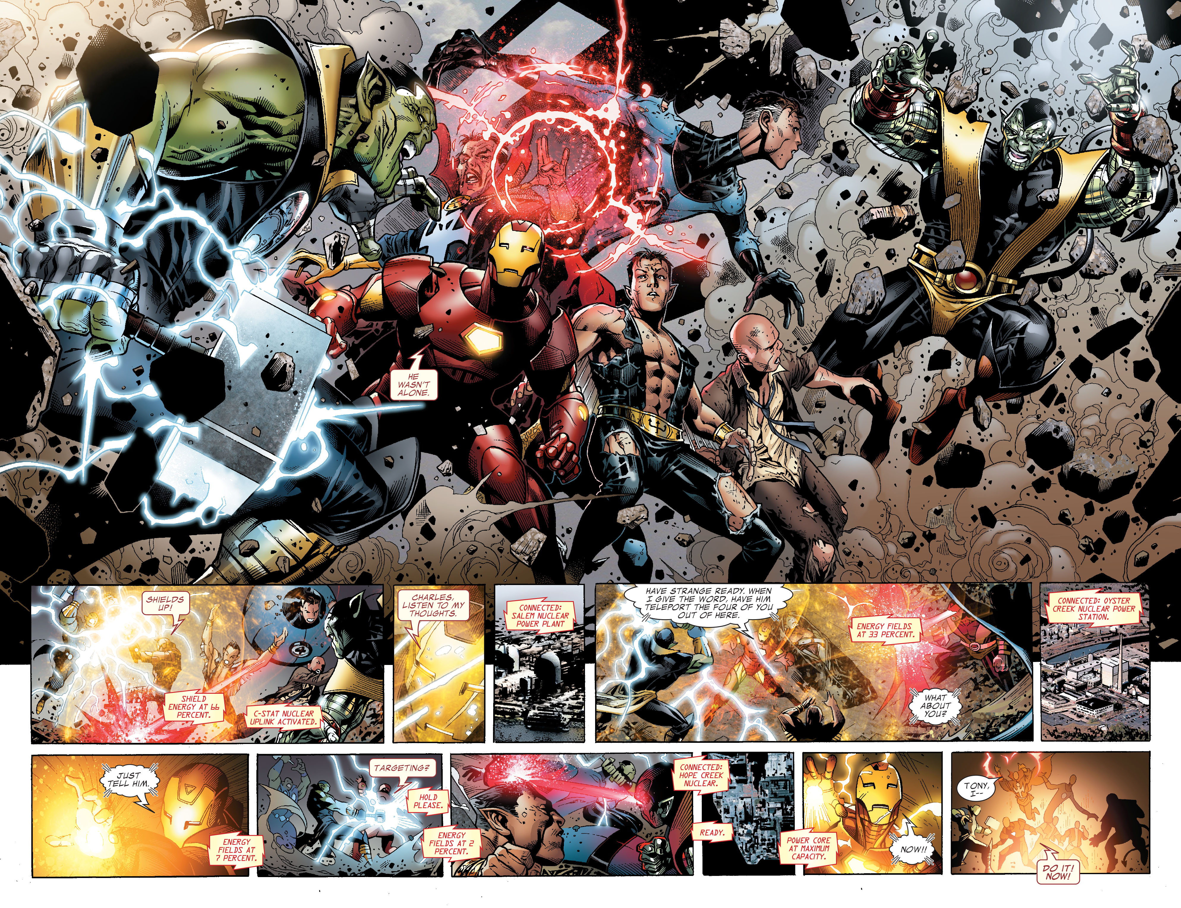 Read online Secret Invasion: The Infiltration comic -  Issue #2 - 16