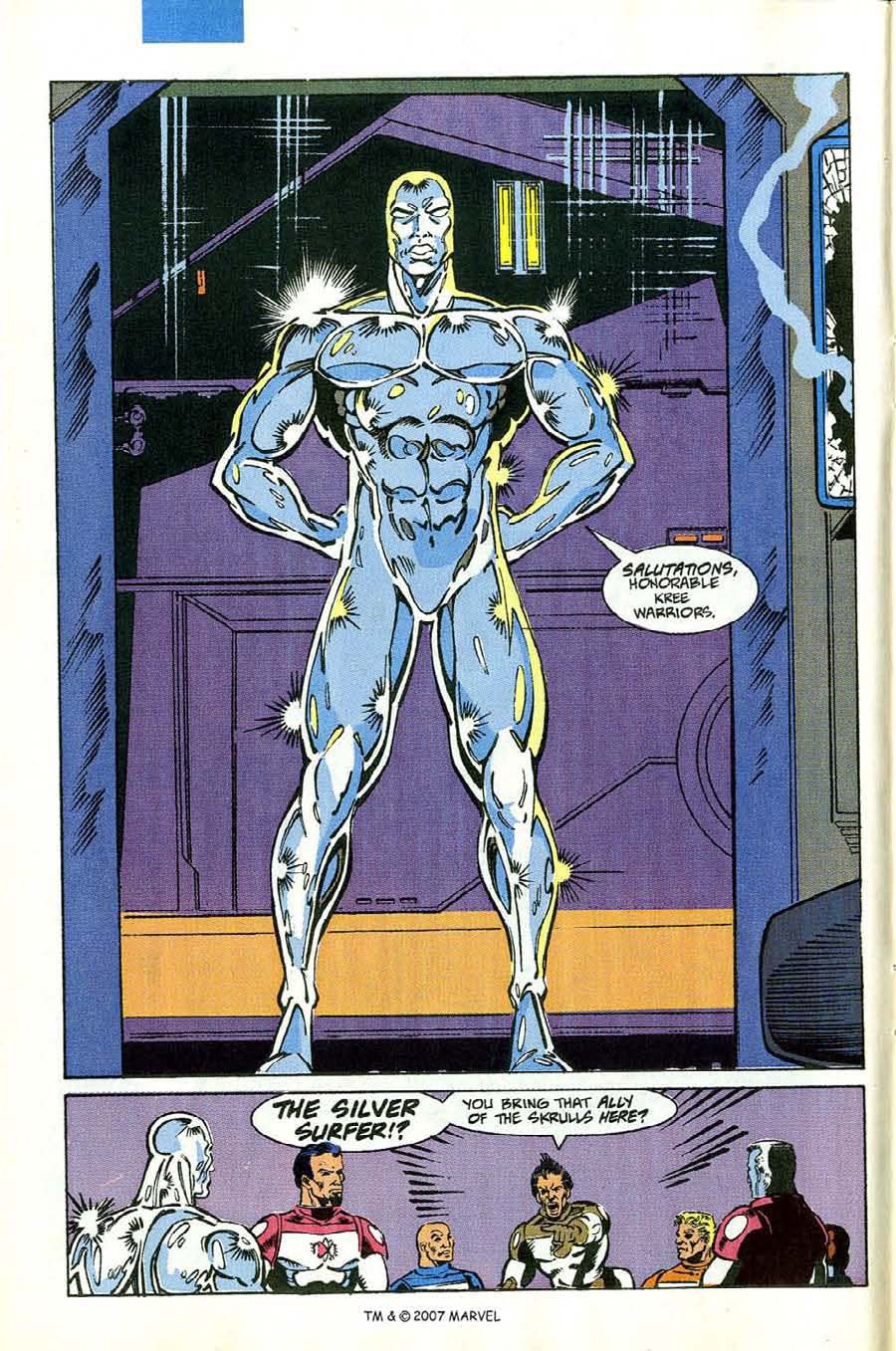 Read online Silver Surfer (1987) comic -  Issue #53 - 8