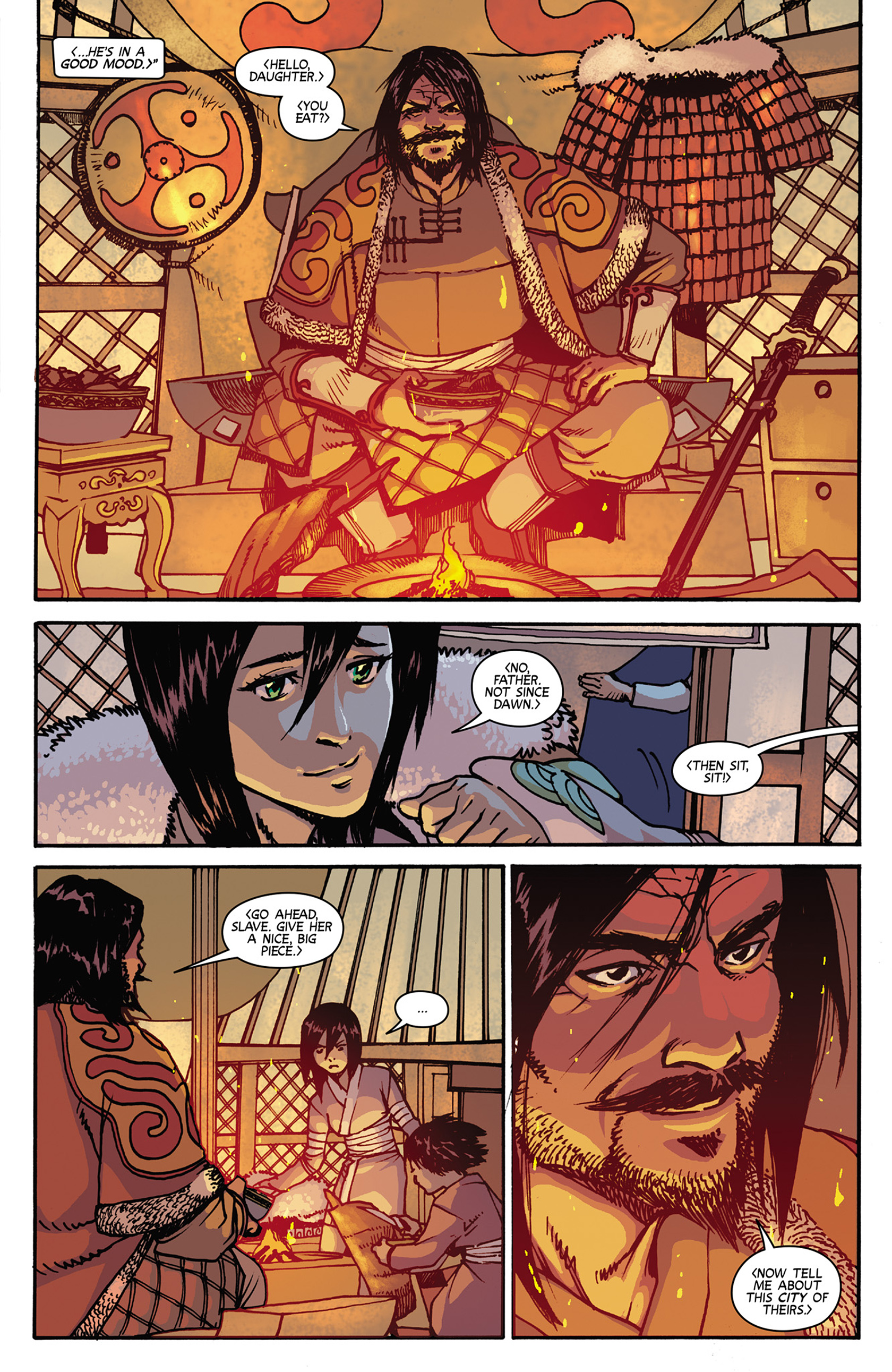 Read online Turok: Dinosaur Hunter (2014) comic -  Issue #7 - 11