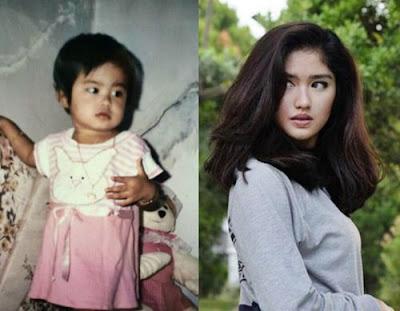 Foto Ochi Rosdiana saat Kecil Bikin Gemes dan Transformasi saat sudah dewasa