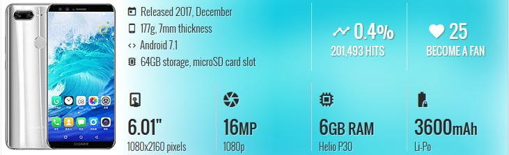 HP China Terbaik & Berkualitas - Gionee S11S