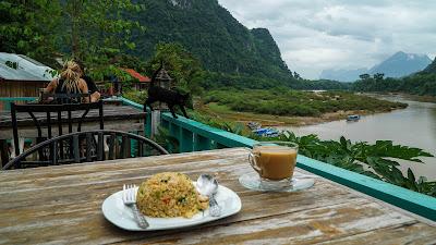 Ning Ning restaurant in Muang Ngoi Neua