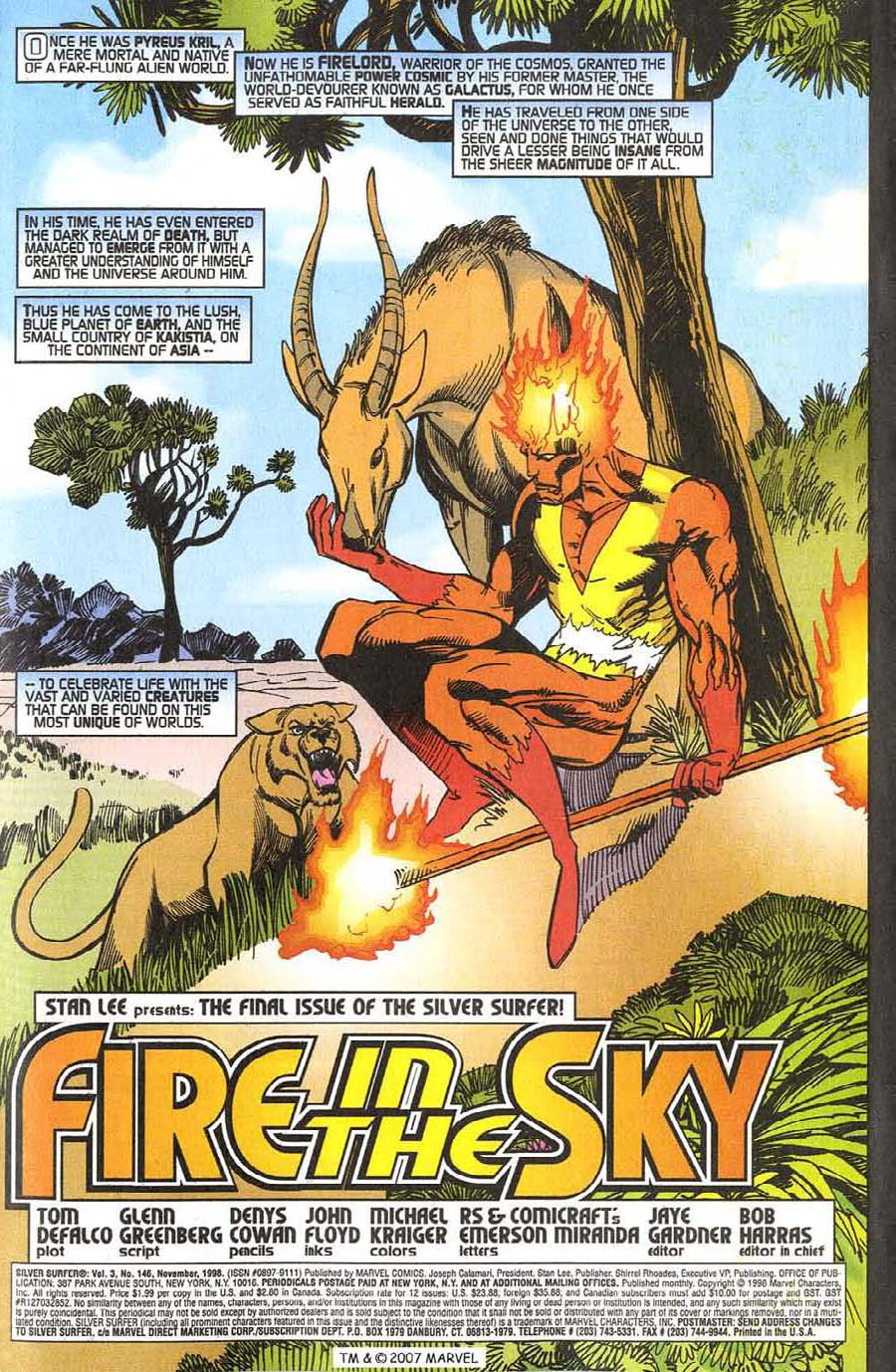 Read online Silver Surfer (1987) comic -  Issue #146 - 5