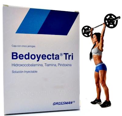 Bedoyecta para mujeres para aumentar los músculos
