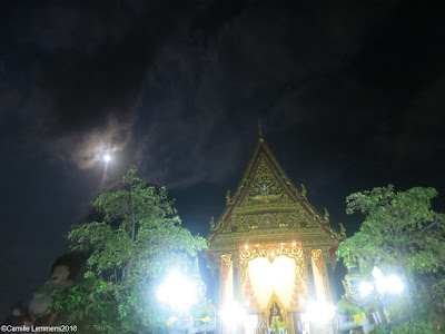 Wien Tien at Wat Plai Laem