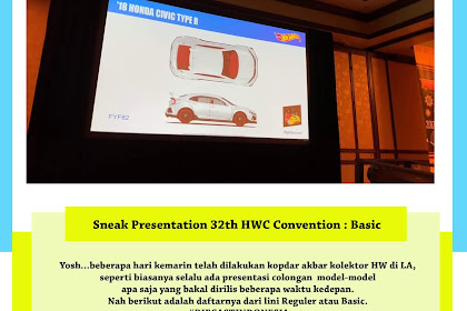 Sneak Presentation 32th HWC Convention : Basic