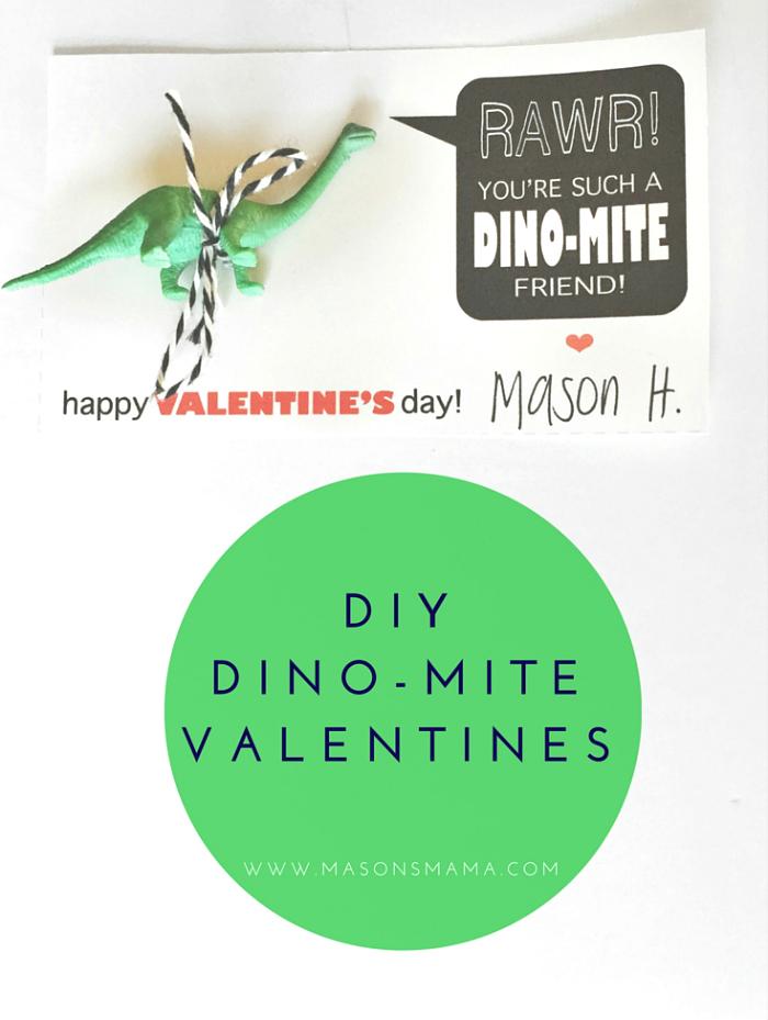 DIY Dino-Mite Valentine's