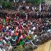 Thousands Of Biafrans Storms Umuahia today, Meet with Nnamdi Kanu [PHOTOS]