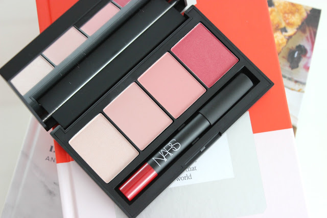 Nars Sarah moon cheek palette, cheek palette, blush, swatches