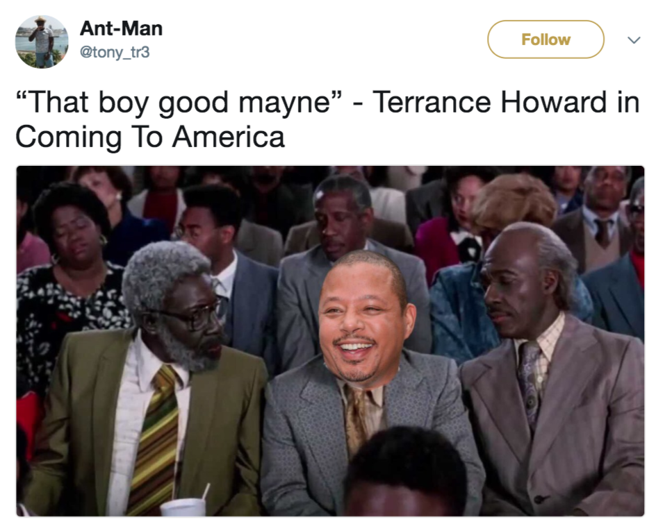 Coming To America Meme That Boy Good