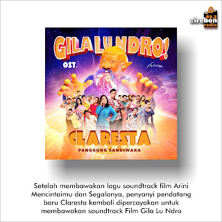 Claresta Membawakan Lagu Soundtrack (OST. GILA LU NDRO)