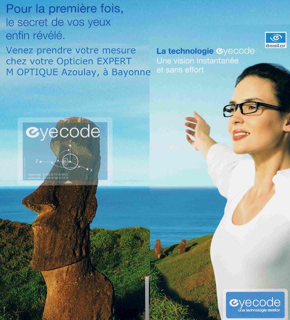 Technologie eyecode essilor