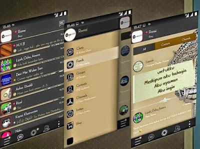 BBM Mod Versi Bahasa Jawa v2.13.1.14 Apk