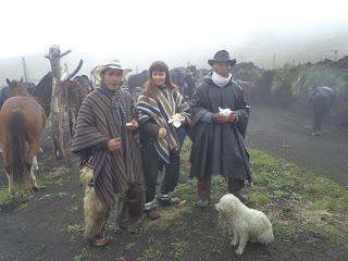 chagra, ecuador, volcano, riitta reissaa, ratsastusmatka