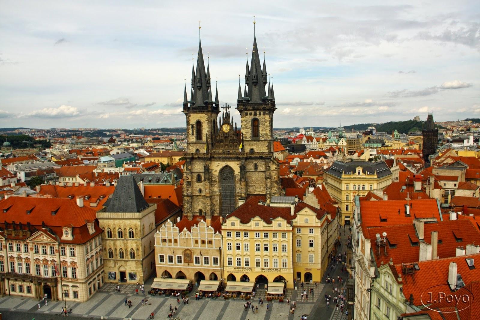 Barrio Judío de Praga, la Ciudad Vieja y la Nueva