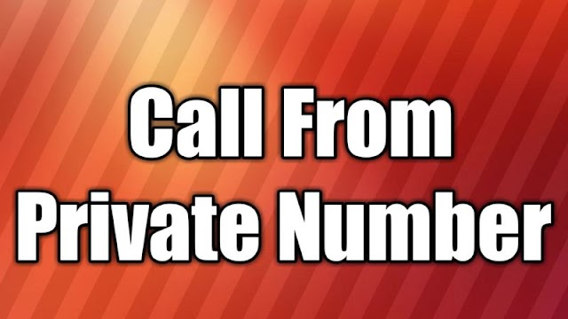 Call from Private Number