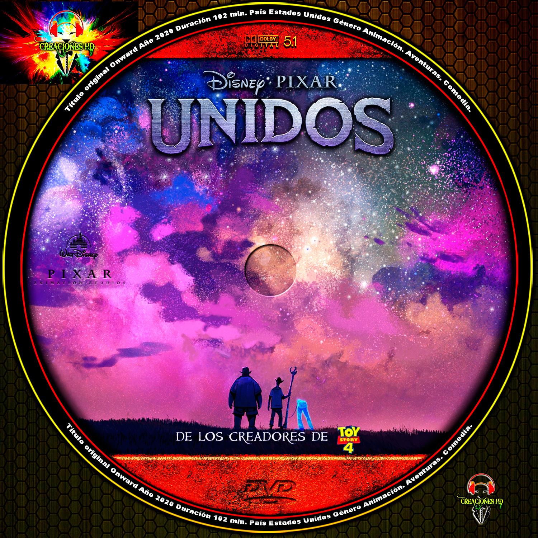 GALLETA DVD Onward UNIDOS