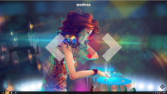 Remix Dance Machine Wallpaper Engine