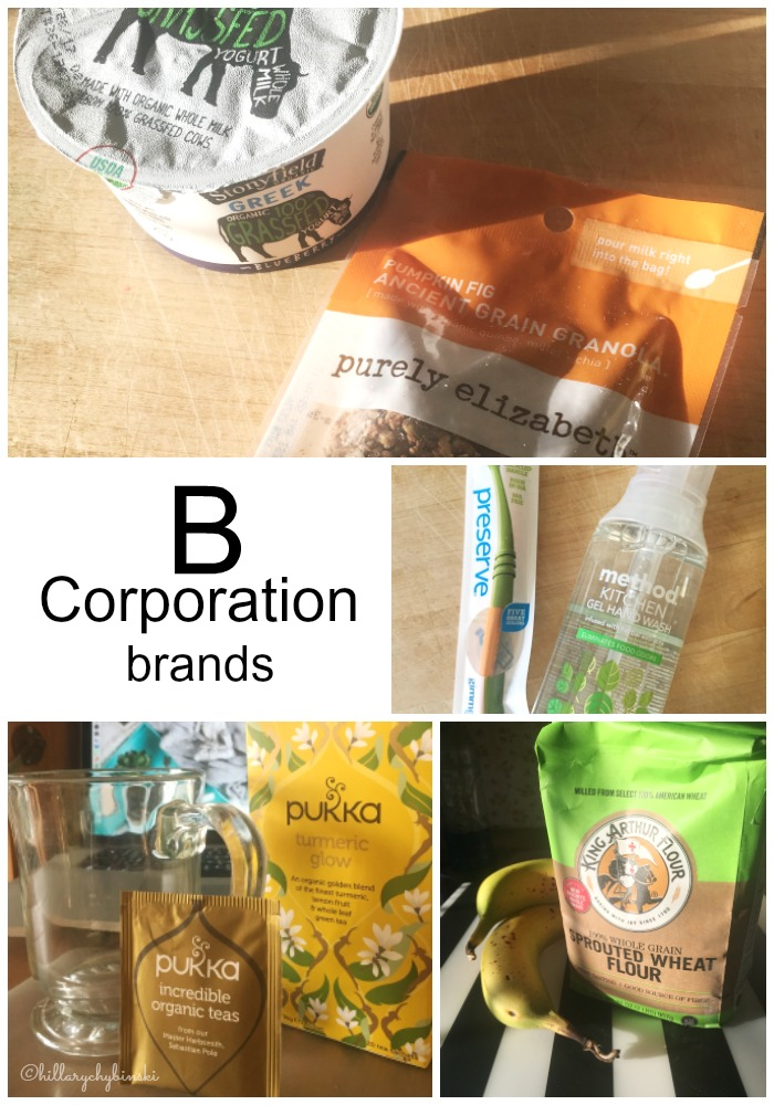 There are more than 1600 companies in the B Corp group.