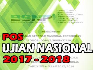 POS UJIAN NASIONAL 2017-2018 TERBARU
