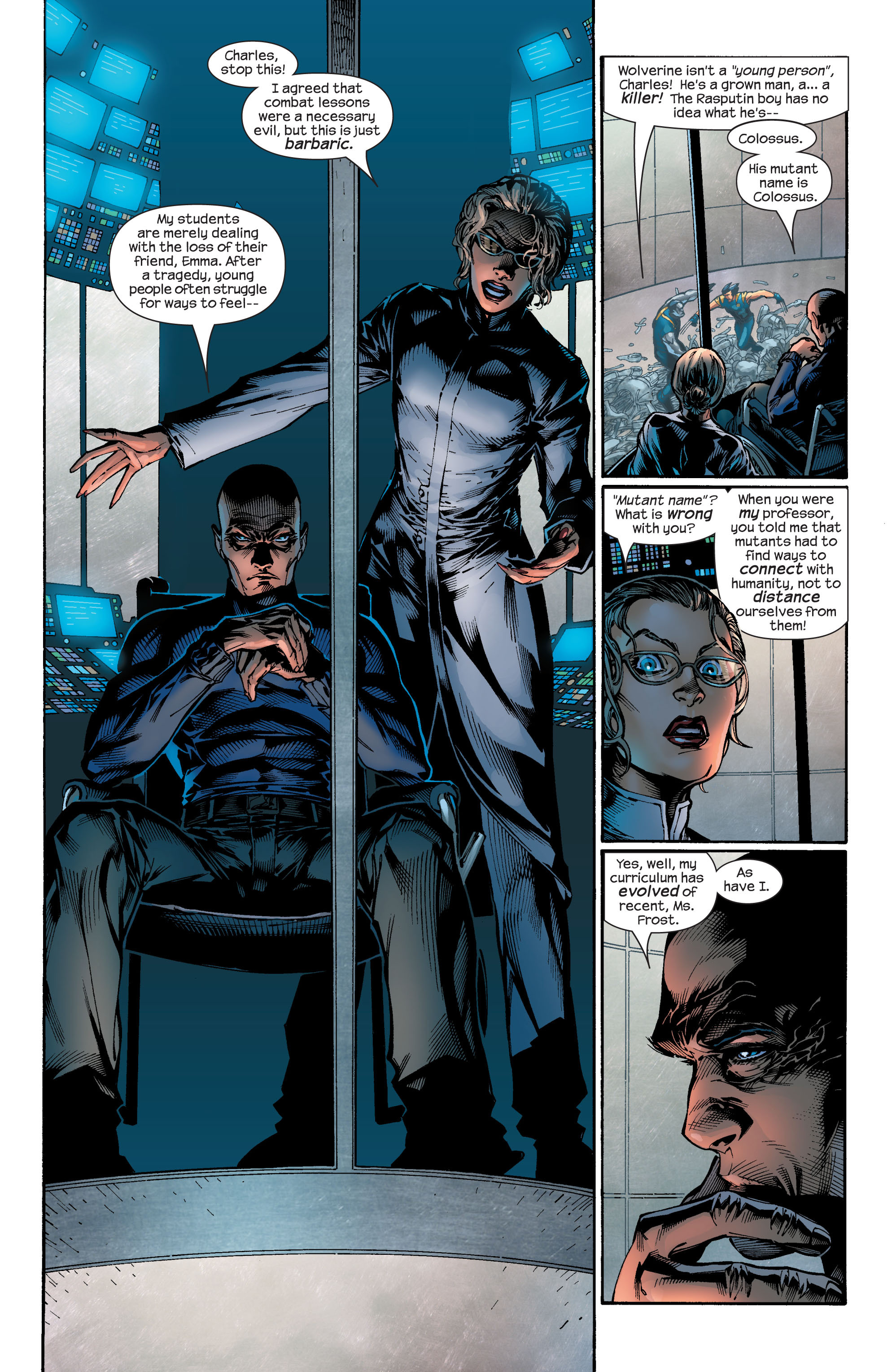 Read online Ultimate X-Men comic -  Issue #46 - 11