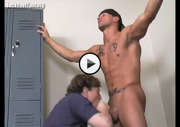 Locker room naked hung think