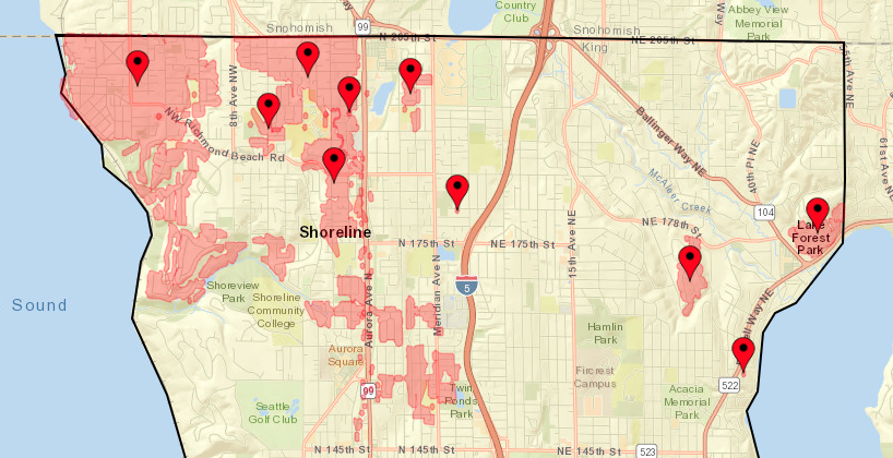 Shoreline Area News 12 000 City Light Customers Without Power And