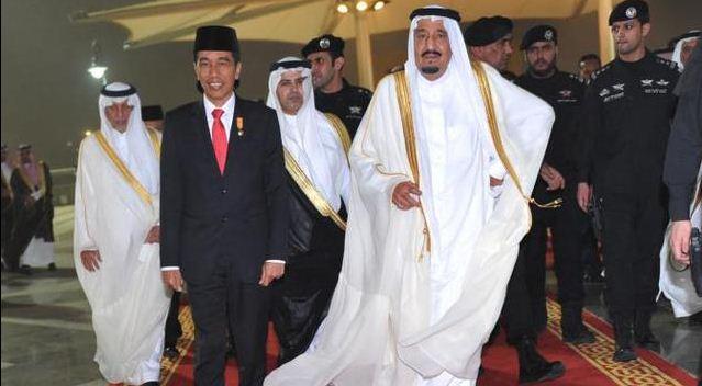 Ini Sambutan Khusus Jokowi untuk Pasukan Besar Raja Salman