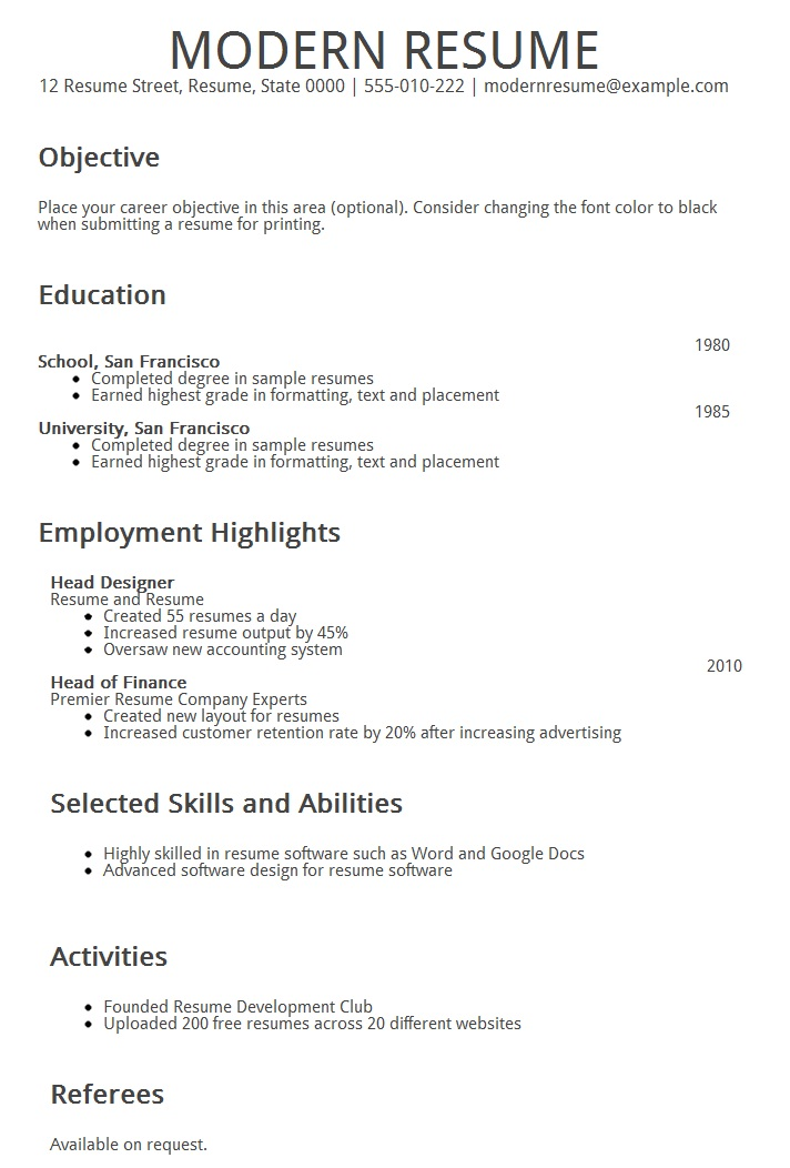 resume samples monster resume monster resume resume builder resume templates free modern resume resume