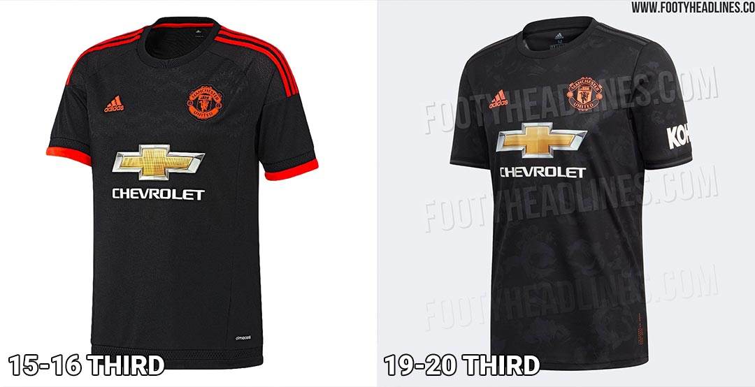 super popular c44f4 33bdc Too Similar? Leaked Adidas Manchester United 19-20 vs 15-16 ...