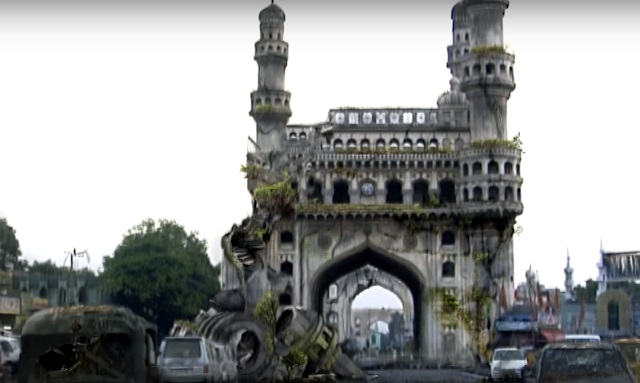Apocalyptic fiction in Tollywood Charminar