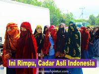 Bukan Di Arab, Ini Wilayah Indonesia yang Muslimahnya Bercadar