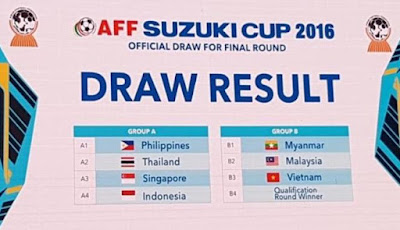 Jadwal Piala AFF 2016 Senior